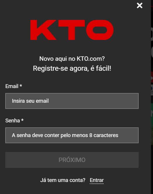 Guia passo-a-passo: ganhar o código promocional KTO