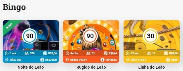 LeoVegas Bingo Jogos